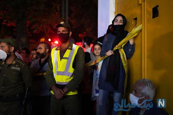 فیلم انفجار کلینیک سینا در شمال تهران و جانباختن ۱۹ نفر