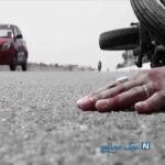 جوان موتورسوار آخرین لایی عمرش را در خیابان های تهران کشید