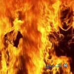 آتش زدن همسر و انکار جنایت آتشین توسط شوهر عصبانی