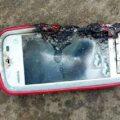 مرگ دلخراش پسر ۱۲ ساله به خاطر انفجار گوشی موبایل در دستانش