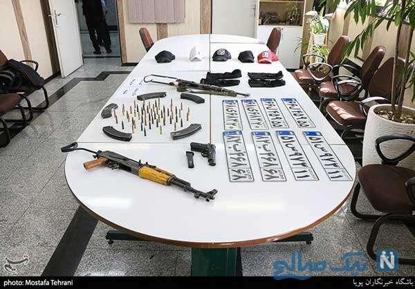 سارقان مسلح تهران