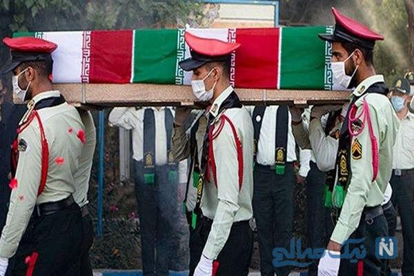 قتل مأمور پلیس موتورسوار به دست سارق نیسان در جنایت وحشیانه +تصاویر