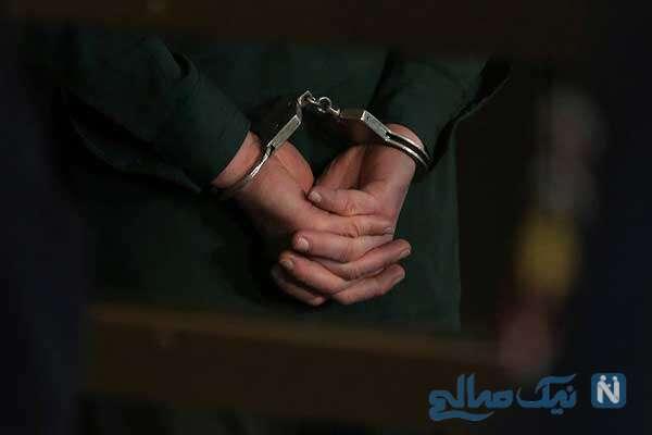 گفتگو با قاتل بی رحم سرباز گلستانی بعد از دستگیری +تصاویر