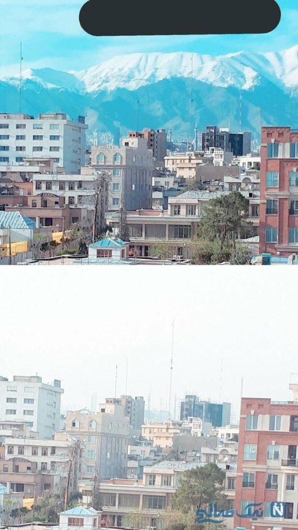 تهران در فاصله چند روز