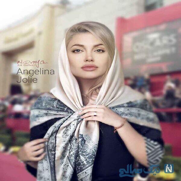 با حجاب هم بسیار زیباس