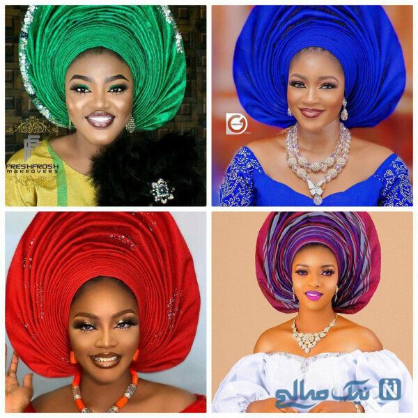 عروس های نیجریه ای
