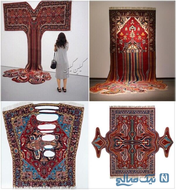 طراحی زیبای فرش