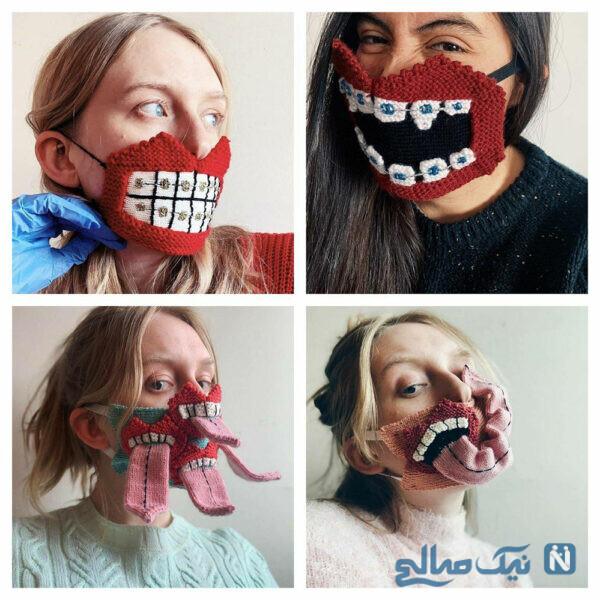 ماسک های عجیب