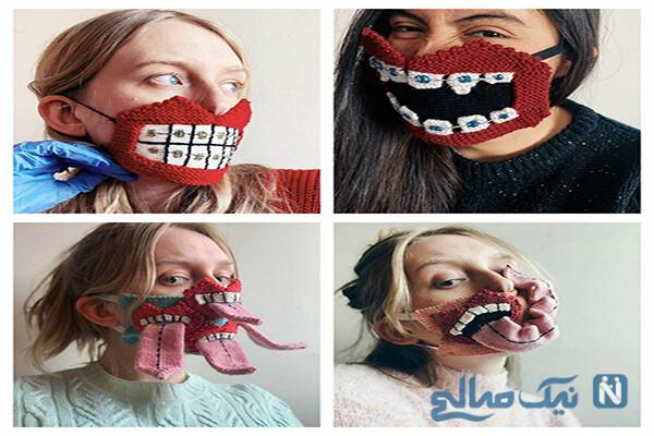 عکس های خنده دار از ماسک های عجیب تا عروس شدن پسرها