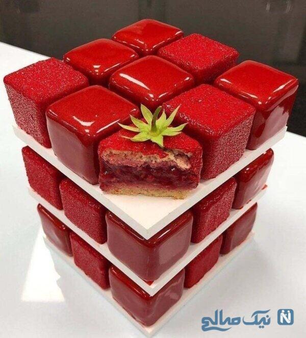 کیک خلاقانه