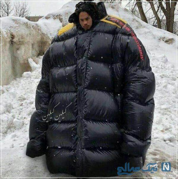 تیپ بعضی ها در روزهای سرد