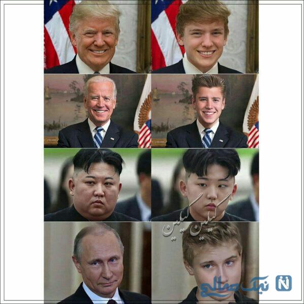 کودکانه سیاستمداران