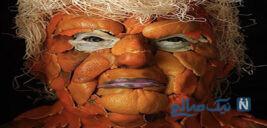 عکس های خنده دار از ماسک نارنگی ترامپ تا گوبای پارتی دوستان ترامپ