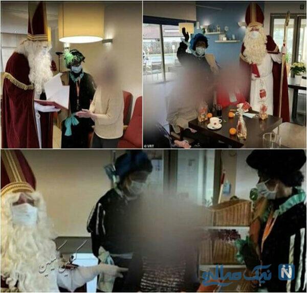 بابانوئلی که سالمندان را کرونایی کرد
