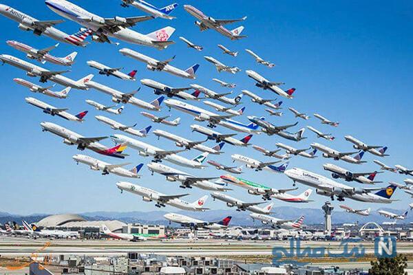 عکس های خنده دار از پرواز های ماهان بعد از انتشار خبر کرونای انگلیسی