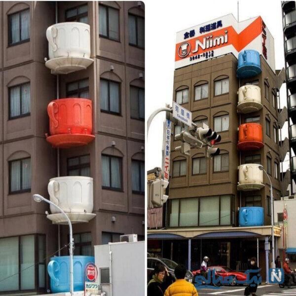 وقتی طراح ساختمان عاشق چای باشه