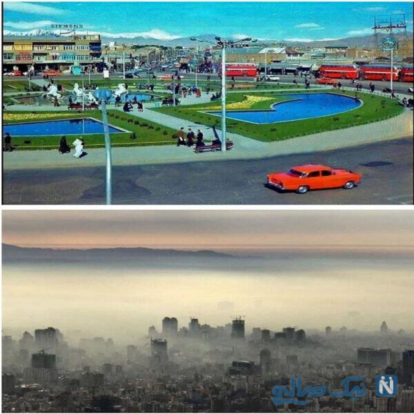 آلودگی شهر تهران