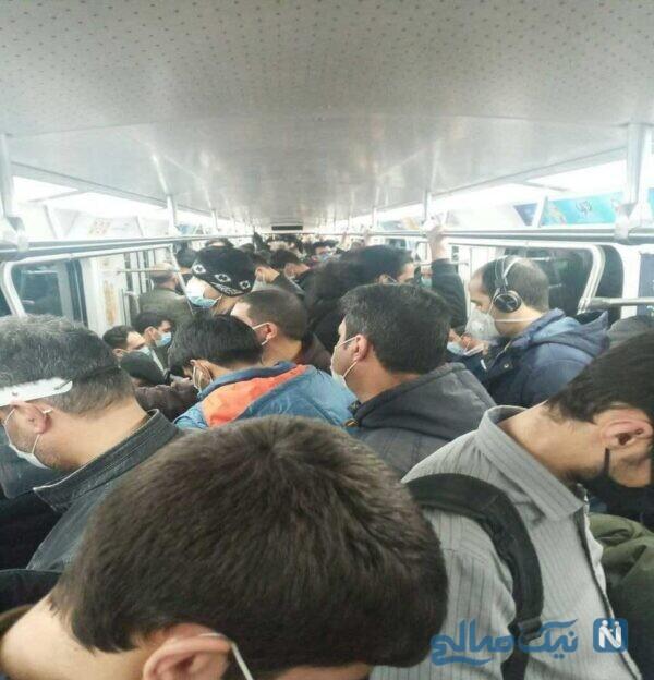 وضعیت مترو