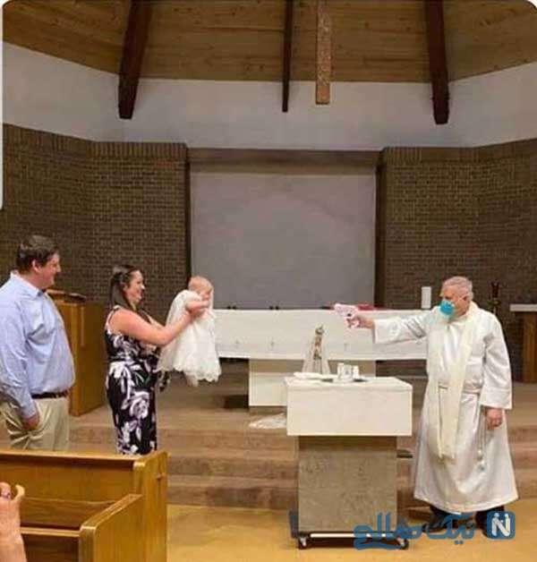 غسل تعمید در زمان کرونا