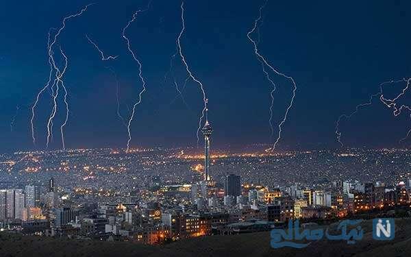 تصویر هالیوودی از تهران