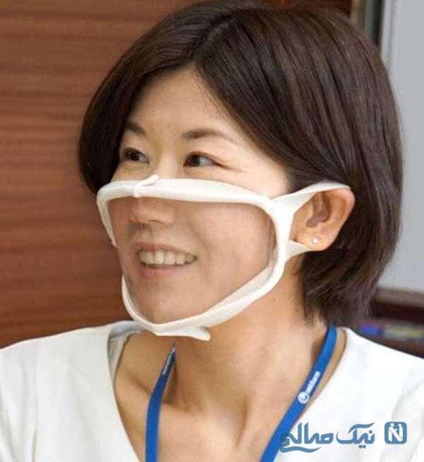 لبخند پشت ماسک