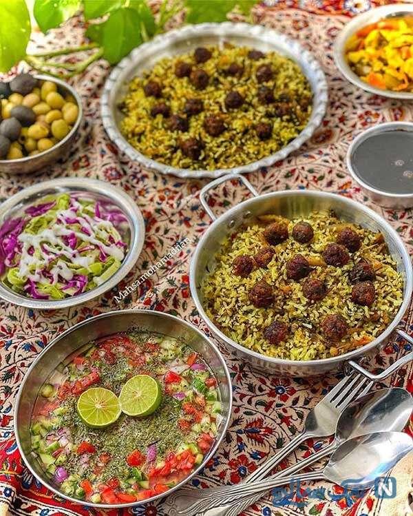 کلم پلوی شیراز