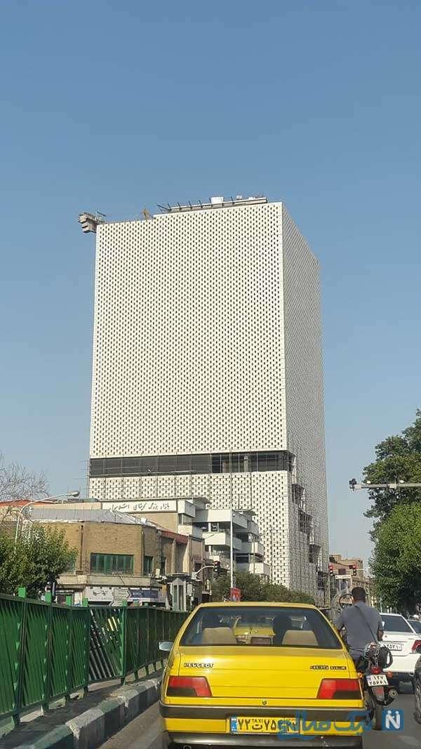 ساختمان جایگزین پلاسکو