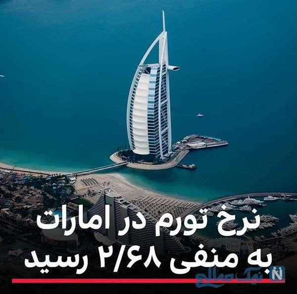 نرخ تورم در دبی