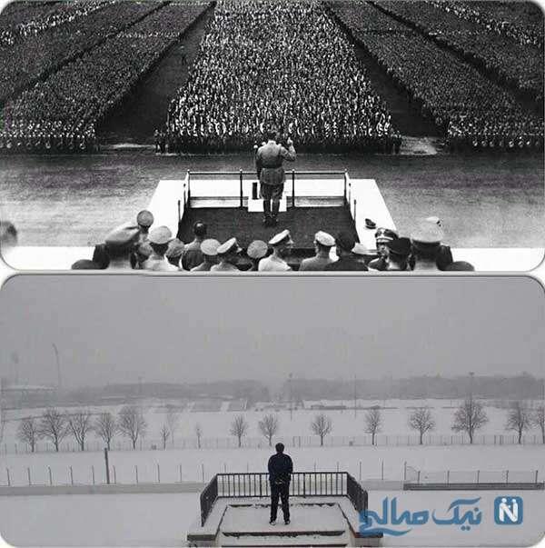 جایگاه سخنرانی هیتلر
