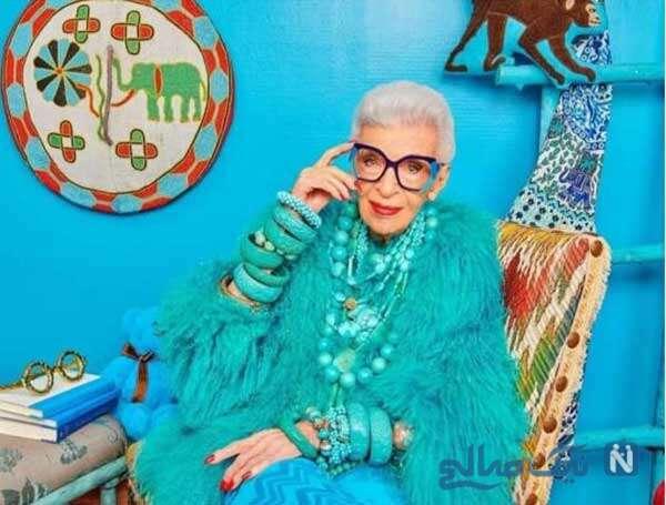 خوشتیپ ترین مادربزرگ دنیا