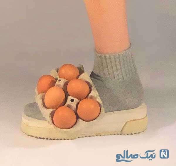 کفش جا تخم مرغی