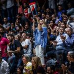 سوت زدن هواداران لبنانی در حین پخش سرود ملی کشورمان
