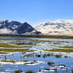 تالاب گندمان زیباترین و کم نظیر ترین چشم انداز چهار محال بختیاری