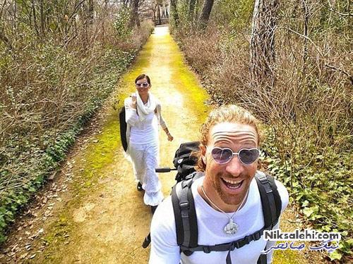 این زوج هر جا که برسند ازدواج می کنند! +عکس
