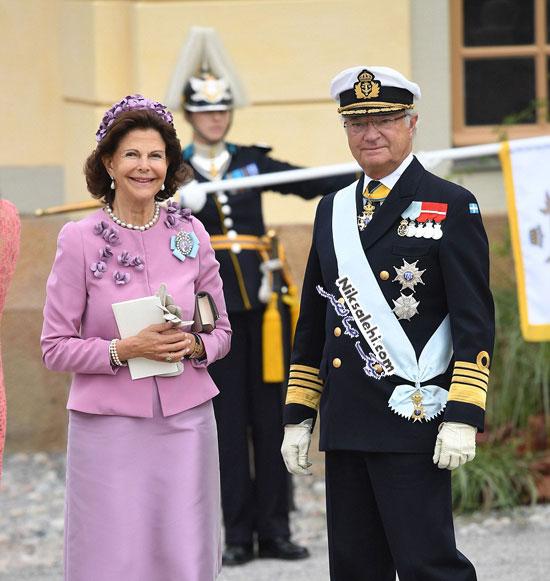 مراسم غسل تعمید جدیدترین شاهزاده سوئدی +عکس
