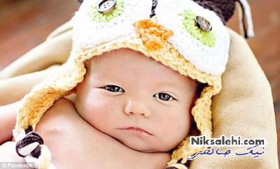 کودکی که هرگز لبخند نمی زند!+عکس