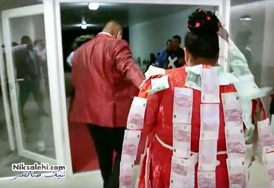 عروسی بسیار گرانقیت و پرسروصدای زوج جوان در شبکه های اجتماعی +عکس