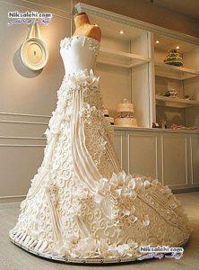 لباس عروسی که آنقدر شیرین و زیباست که نمی شود پوشید+عکس