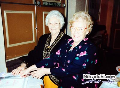 داستان جالب زندگی مسن ترین خواهران دوقلوی همسان +عکس