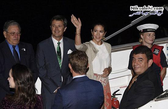 تیپ شاد شاهزاده خانم دانمارکی در سفر به برزیل برای المپیک +عکس