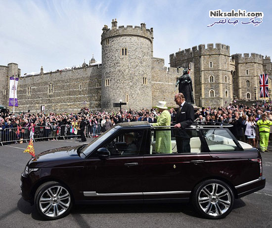 ملکه الیزابت در تولد ۹۰ سالگی اش +عکس