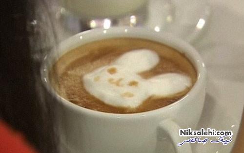 هنرخارق العاده یک گرافیست روی فنجان قهوه +عکس