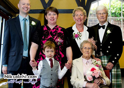این خانم متفاوت ترین ساقدوش عروس است! +عکس