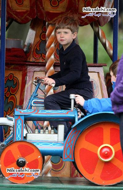 تصاویری از دوران کودکی خانواده سلطنتی بریتانیا +عکس