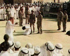 عکس : گردن زدن یک زن در عربستان سعودی
