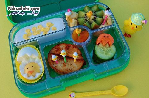 ابتکار بسیار جالب و زیبای یک مادر برای پسر بدغذایش +عکس