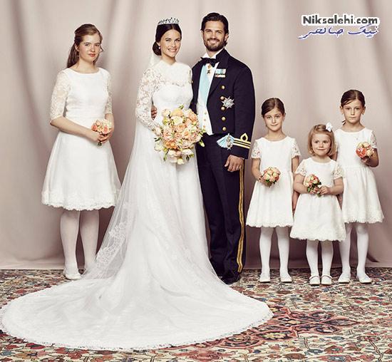 شاهزاده سوئد و همسرش و جنسیت فرزندشان +عکس