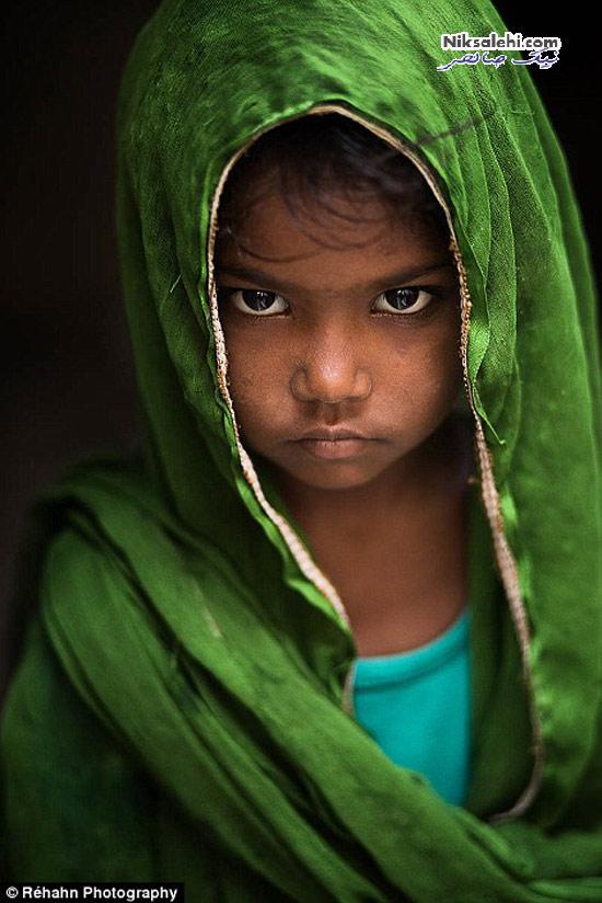 سوژه این عکاس چهره های خاص و متفاوت است! +تصاویر