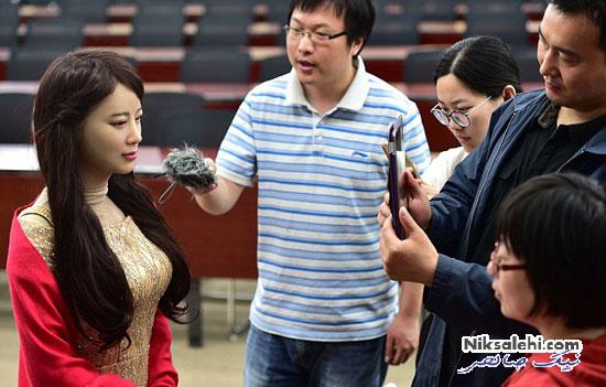 این خانم ساخته ی جدید چینی هاست! +عکس