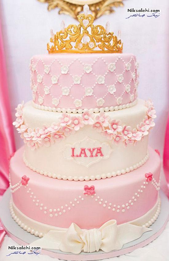 ایده های زیبای کیک تولد یک سالگی دخترکوچولوها +عکس
